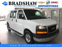 Summit White 2018 GMC Savana 2500 Work Van KBB Fair