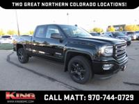 Onyx Black 2018 GMC Sierra 1500 Elevation Edition RWD