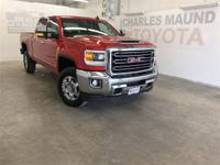 Red Quartz Tintcoat 2018 GMC Sierra 2500HD SLT 4WD