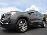 Graphite Gray Metallic 2018 GMC Terrain SLT AWD 9-Speed