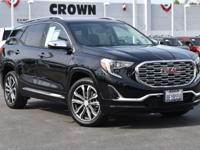 Ebony Twilight Metallic 2018 GMC Terrain Denali FWD