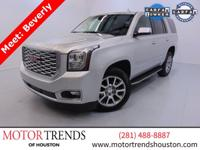 Hello! My name is Beverly! I am a 2018 GMC Yukon Denali