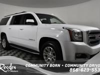 4 Wheel Drive*** This Summit White 2018 GMC Yukon XL is