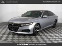 Accord Sport, Lunar Silver Metallic, ABS brakes, Alloy
