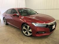 Radiant Red Metallic 2018 Honda Accord Touring FWD CVT