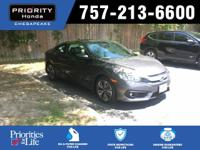 2018 Honda EX-L Civic Gray Multi-Angle Backup Camera,
