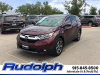 CARFAX One-Owner. Basque Red Pearl II 2018 Honda CR-V