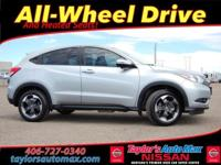 LOCAL TRADE IN ONE OWNER, HR-V EX, 4D Sport Utility,