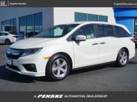 White Diamond Pearl 2018 Honda Odyssey EX-L FWD 9-Speed
