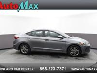 Grey 2018 Hyundai Elantra Limited FWD 6-Speed Automatic