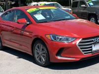 CARFAX One-Owner. Clean CARFAX. Red 2018 Hyundai