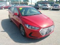 Recent Arrival! 2018 Hyundai Elantra SEL Dark Red 28/37