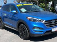CARFAX One-Owner. Blue 2018 Hyundai Tucson SEL AWD