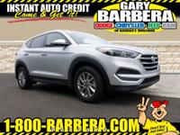 Our great looking 2018 Hyundai Tucson SE AWD in Molten