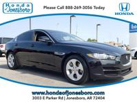 Clean CARFAX. Black 2018 Jaguar XE 25t RWD 8-Speed