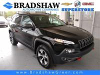 Diamond Black Crystal Pearlcoat 2018 Jeep Cherokee