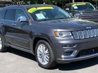 CARFAX One-Owner. Clean CARFAX. Gray 2018 Jeep Grand