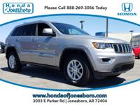 CARFAX One-Owner. Silver 2018 Jeep Grand Cherokee