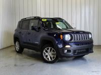 CARFAX One-Owner. 2018 Jeep Renegade Latitude Blue