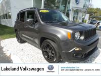 2018 JEEP RENEGADE LATITUDE. CARFAX One-Owner. Clean