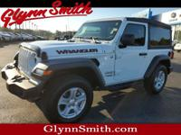 This White 2018 Jeep Wrangler Sport might be just the