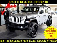 2018 WRANGLER ** UNLIMITED SPORT ** 4 x 4 ** ONLY 8K