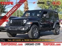 This 2018 Jeep Wrangler Sport 4WD has a CARFAX