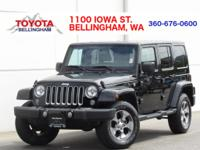 PRICE REDUCED OVER $2,000!!! * 4X4 * SAHARA PACKAGE *
