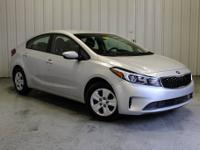 CARFAX One-Owner. 2018 Kia Forte LX Silky Silver Clean