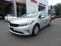 2018 Kia Forte LX, 1-OWNER AND ACCIDENT FREE CARFAX