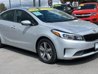 CARFAX One-Owner. Clean CARFAX. Silver 2018 Kia Forte