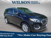 Ebony Black 2018 Kia Sorento LX AWD 6-Speed Automatic