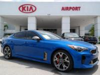 Kia Certified!!! Clean CARFAX 1 OWNER!!! Micro Blue
