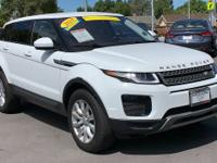CARFAX One-Owner. Clean CARFAX. White 2018 Land Rover
