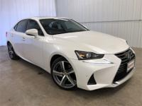 Ultra White 2018 Lexus IS 300 RWD 8-Speed Automatic