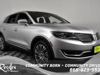 All Wheel Drive. This Silver 2018 LINCOLN MKX is