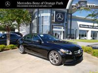 Black 2018 Mercedes-Benz C-Class C 300 RWD 9-Speed