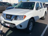 CARFAX One-Owner. Clean CARFAX. White 2018 Nissan