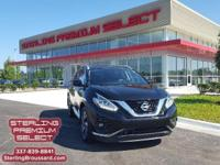 Platinum trim, Magnetic Black Metallic exterior and
