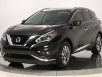 *1-OWNER* 2018 Nissan Murano SL in Magnetic Black