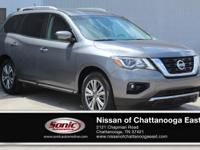 This 2018 Nissan Pathfinder SV comes complete with