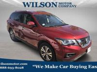 Scarlet 2018 Nissan Pathfinder SV 4WD CVT with Xtronic