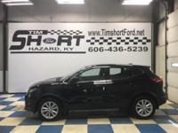 Magnetic Black 2018 Nissan Rogue Sport S AWD CVT with