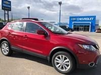 Palatial Ruby 2018 Nissan Rogue Sport SV AWD CVT with