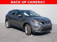 2018 Nissan Rogue Sport SV Gun Metallic Safety
