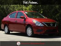 CARFAX One-Owner. Clean CARFAX. Versa 1.6 S Plus, 4D