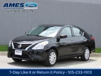 Agile and enthusiastic, our amazing 2018 Nissan Versa