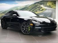 $112370 PANAMERA 4 E-HYBRID, V6 AND HYBRID POWER, BUILT