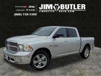 Bright Silver Clearcoat Metallic 2018 Ram 1500 Big Horn