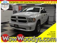 One owner! This Ram 1500 Express Quad Cab Top options